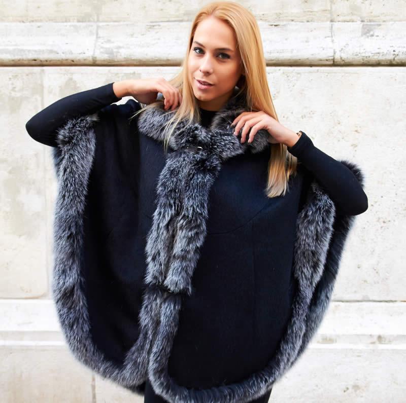 against fur clothing
